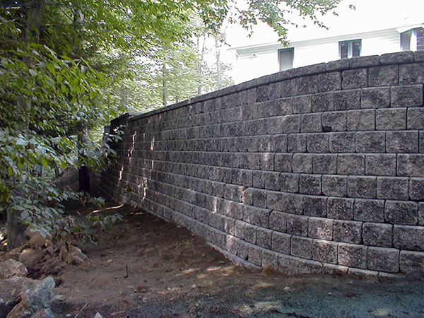 Retaining Wall – Chesterfield, MA 01012