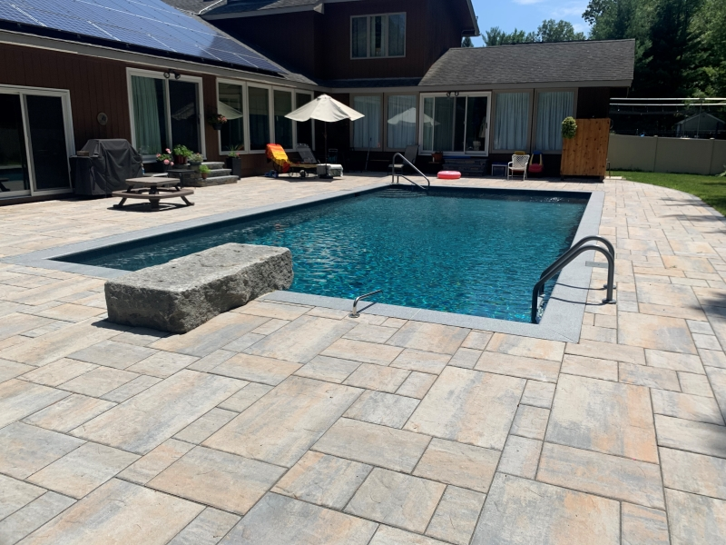 Poolscape, Inground Pool, Inground Pool Landscaping