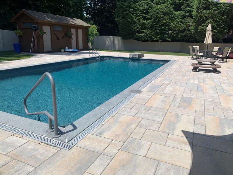 poolscape, inground pool, inground pool landscaping